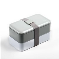 Rectangle Lunch Bento Container Camp Trip Food Storage Box BPA Free Material Leakproof Reusable Lunch Container