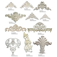Lightweight Decorative PU Foam Wall Ornaments