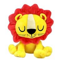 Custom Cuddle Yellow Soft Lion Stuffed Plush Animal Lion Toy for Baby