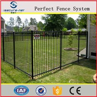 Galvanized Palisade Picket Fence System Free Sample Residential Security