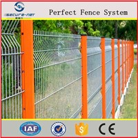 Home Yard Ornamental Welded Wire Mesh Fence Hot Dipped Galvanized Steel Panels