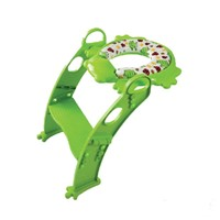 Baby Kids Child Cushion Ladder Toilet Luxxbaby Pcl1 - Potty Green Baby but