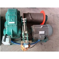 5 Ton Pulling Winch Used On Contruction Site Supplier