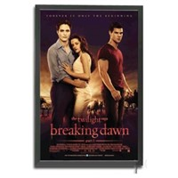 Illuminated Backlit Poster Light Box LED Backlit Movie Poster Frame
