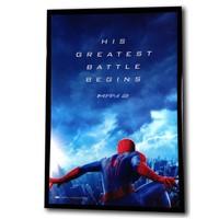 LED Light Box Movie Cinema Poster Frame - Black - 27x40''
