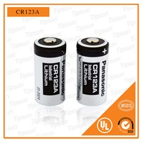 Individually Shrink Package 1400mAh CR123A Lithium 3 Volt Battery Japaness Brand for Digital Product