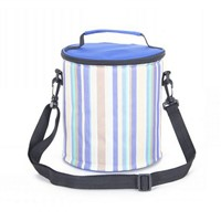 Tote Messenger Can Rolling Round Thermal & Ice Cooler Bag