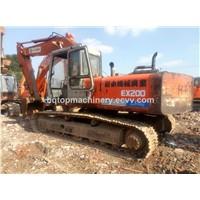 Used Hitachi EX200 EX300 Japanese Hydraulic Excavator, Secondhand Cheap 20 Ton Excavator EX200-1 for Sale