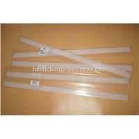 Komori Ink Blade 820x36x1mm with 11 Holes for Komori Printing Machine