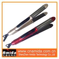 Best Fast Heat up Heatproof Safe LCD Titanium Hair Straightener