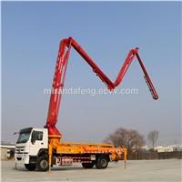 33m Truck-Mounted Concrete Boom Pump Truck