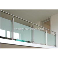 Sell the SGCC, CE Certification Printed Glass for Ceiling, Partition, Railing, Showboard from IKEA OEM In China