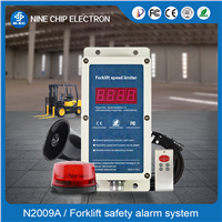 Forklift Overspeed Alarm, Forklift Speed Limit Device