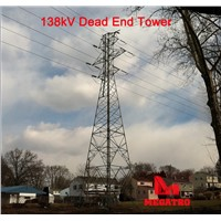 138KV Dead End Tower for Power Transmission
