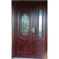 Glass Steel Door