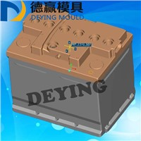High Quality Car/Auto Battery Container Mould 2017 Plastic Injection Lead Acid Battery Container with Cover Mold