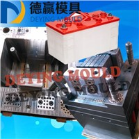 2017 Hot-Selling Car/Auto Battery Box Mould Plastic Injection Lead Acid Battery Container/Case Mold