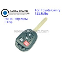 Hot Sale Remote Control Key for 2015 2016 Toyota Camry 4 Button Remote Key Fob HYQ12BDM H Chip 313.8Mhz
