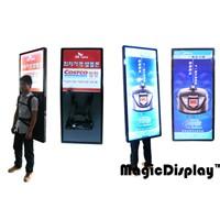 Magic Backpack Sign Light Box