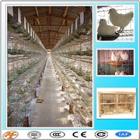 4tiers 16doors Pigeons Breeding Cage with Feeding Accessories for Sale