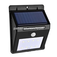 Solar Motion LED Wall Lamp