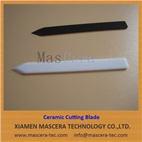 Zirconia ZrO2 Ceramic Blade for Empty Hard Gelatin Capsules Cutting