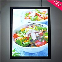 LED Magnetic Menu Board Signs for Wall Mounted Restaurant Fast Food Advertising