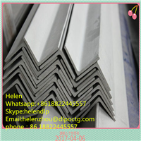 Black Hot Rolled Carbon Mild Astm A36 Q235 Ss400 Steel Angle China Equal Angel Bar/Angle Steel /Iron Angle