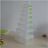 PP Wholesale BPA Free Export Plastic Storage Box Storage Container for Food