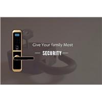 Fingerprint Door Locks Security Alarm System Digital Locks