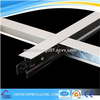 Flat/Fut/Groove Ceiling T Grid/ Ceiling T Bar for Suspended Hanging System 32*24*0.3*3600mm