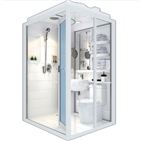 Whole Produce Durable Prefabricated Bathrooms Pods