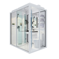 China Supplier Showay Modular Bathroom Units, Prefab Toilet Bathroom Pod