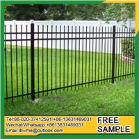 Wrought Iron Fence 25 Years Factory Steel Fence Garden Fence