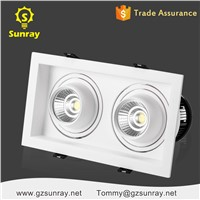 Professional High Brightness Plastic Aluminium Square Downlight Dimmable Ip65 30w LED Downlight