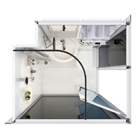 Easy to Clean Modular Bathroom Units, Modular Bathroom Pods