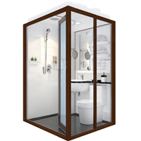 Environment Friendly &Durable Whole Produce Prefabricated Pod Bathroom Unit