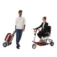 Innovative Folding Medical Mobility Scooter Foldable Electric Wheel Chair for Old People Rehabilitation Therapy
