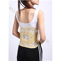 Slimming Lines Fishing Neoprene Tourmaline Magnetic Heated Back Support Belt