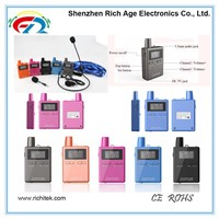 High Quality Wireless Tour Guide System 863-865MHZ Use for Tourist