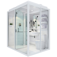 New Arrival High Quality with Economic Prices Prefab Bathroom Pod