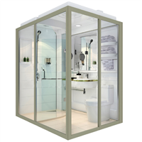 Fashion Design Eco-Friendly Modular Home Bathrooms