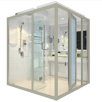 Easy Installation Prefab Bathroom Ensuite Shower Room