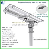 20W 30W 40W 50W 60W 70W 80W Integrated Solar LED Street Light with Sensor