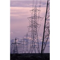 230KV OHL Power Transmission Line Angle Steel Tower