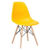 Modern Emes Replica Designer Plastic Chair in Living Room Chairs
