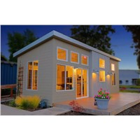 Prefab House, Container House, Wooden Plastic & Steel Structure