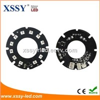 12pcs Infrared SMD 2835 LED 850nm 14mil 44mm PCB Board Night Vision with for CCTV Camera