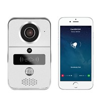 WiFi Doorbell Phone Wireless Viewer with Unlock Function for Home Security