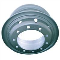 Light Green 20'' Tube Steel Truck Wheel P. C.D 285mm